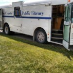Bookmobile at Hudson Park